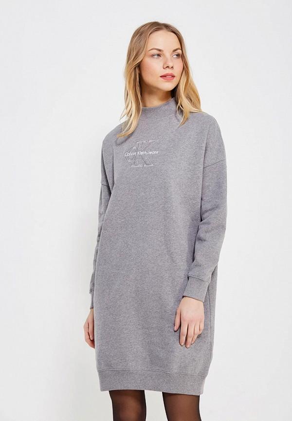Платье Calvin Klein Jeans Calvin Klein Jeans CA939EWZJS63 свитшот calvin klein jeans calvin klein jeans ca939ewzjs33
