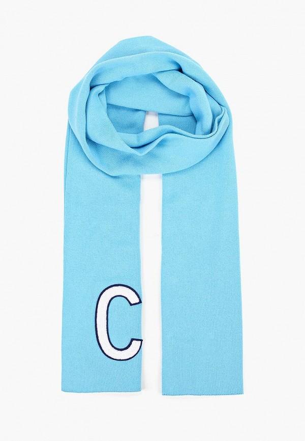 Купить Шарф Calvin Klein Jeans, ca939gubtif2, голубой, Осень-зима 2018/2019