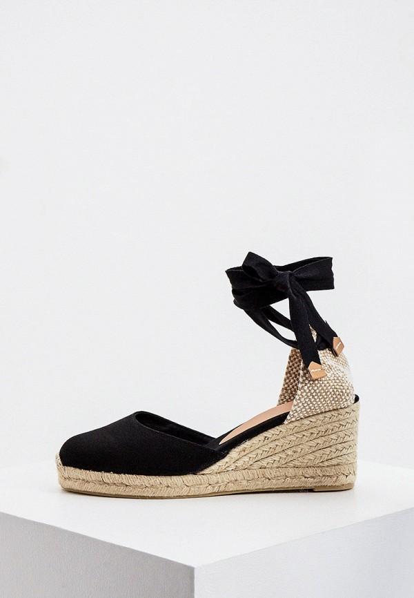 женские туфли castaner, черные