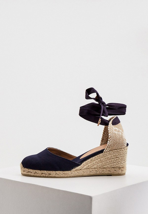 женские туфли castaner, синие