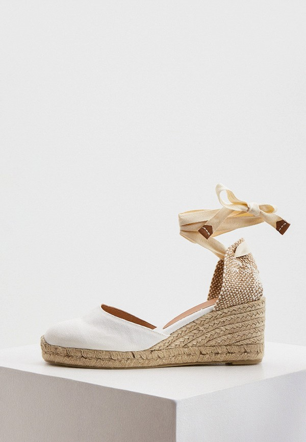 женские туфли castaner, белые