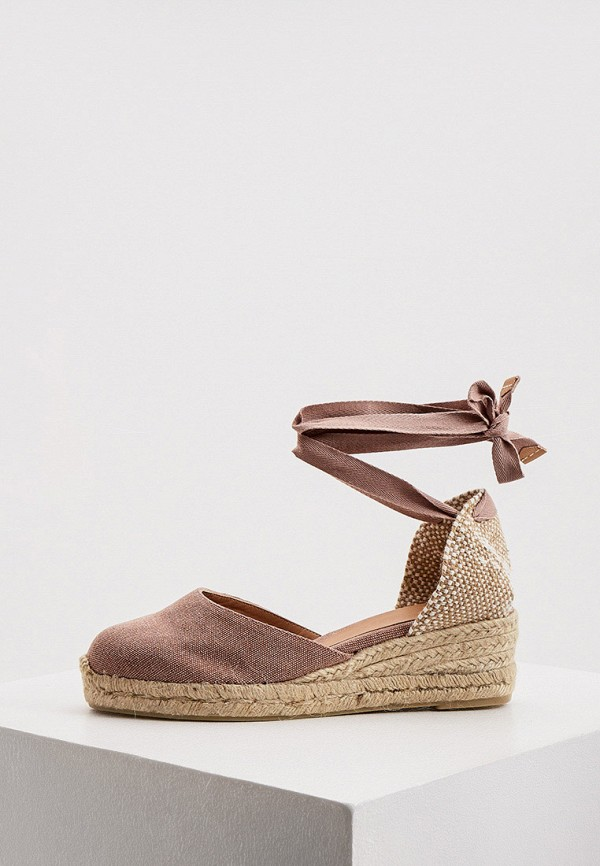 женские туфли castaner, розовые