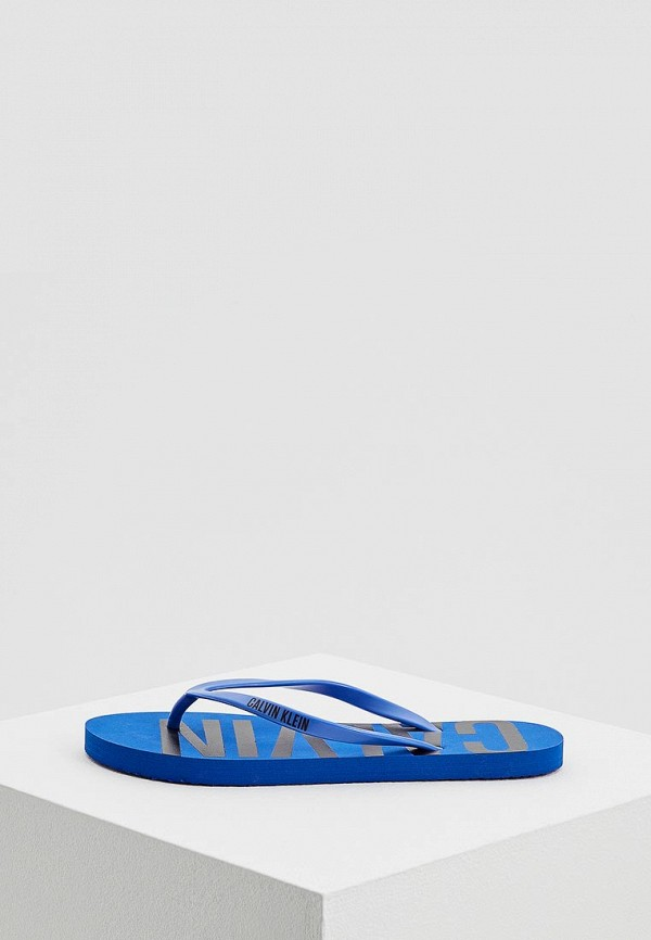 Купить Сланцы Calvin Klein Underwear, ca994awaqaf0, синий, Весна-лето 2018