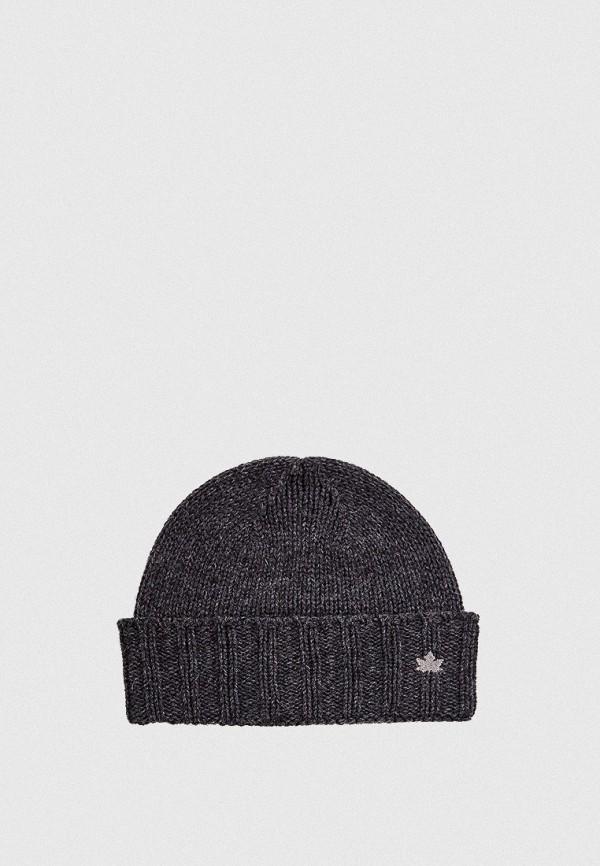 мужская шапка canadian, серая