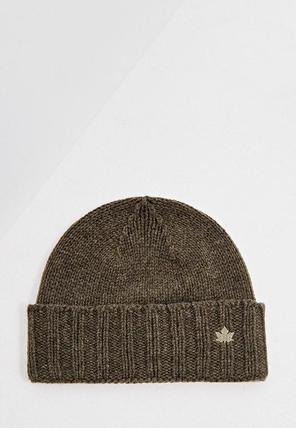 мужская шапка canadian, хаки