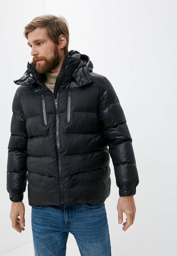мужская куртка canadian, черная