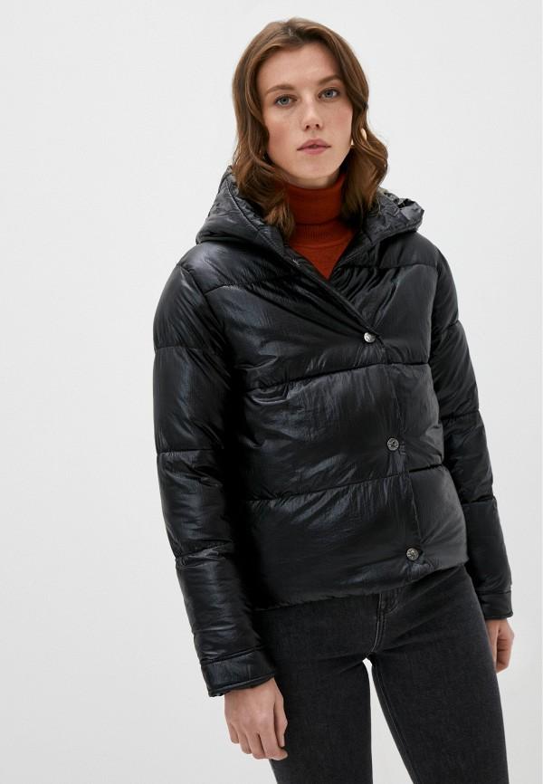 женская куртка canadian, черная