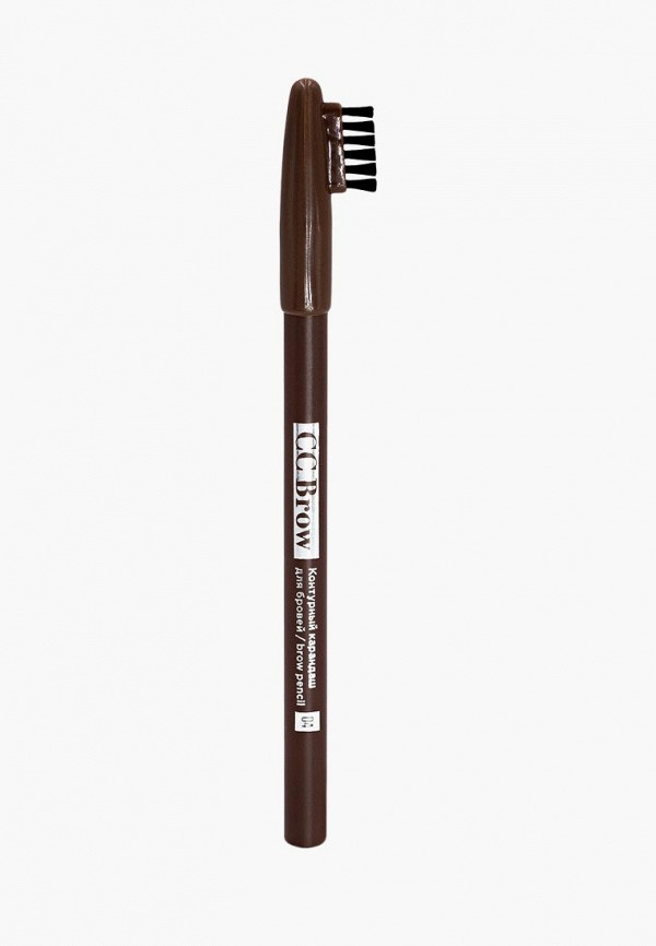 карандаш для бровей cc brow, коричневый