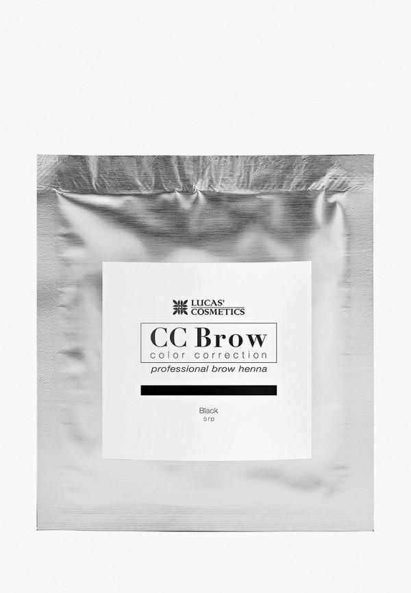 Хна для бровей CC Brow CC Brow CC003LWXZJ96 lucas cosmetics хна для бровей в саше черный cc brow black 5 гр