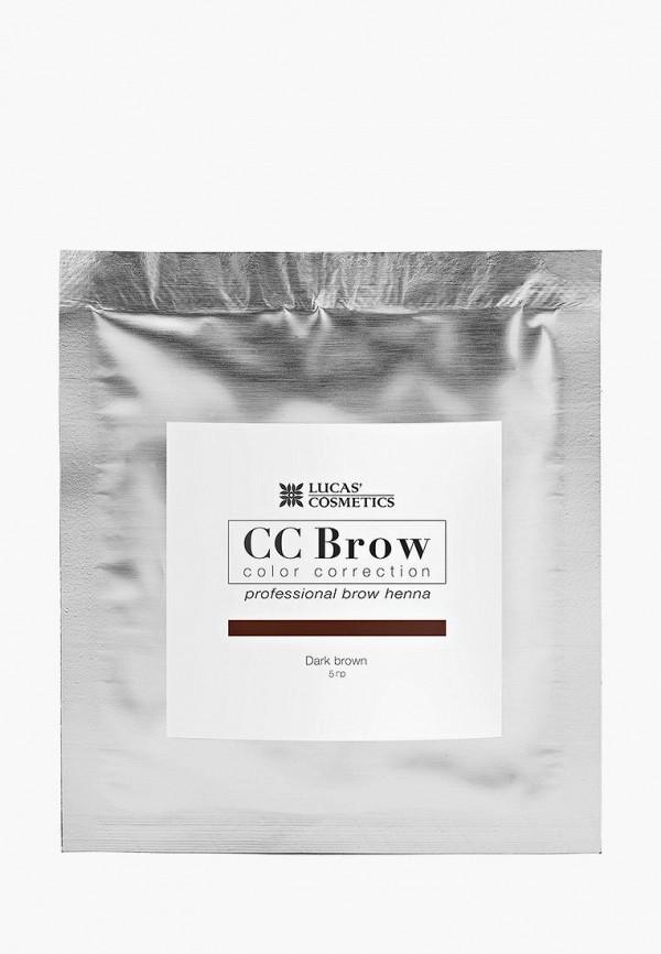 окрашивание бровей cc brow, коричневый