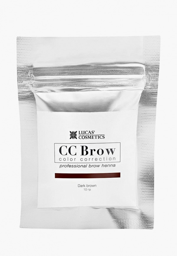 Купить Хна для бровей CC Brow, в саше (темно-коричневый), 10 гр, CC003LWXZK04, Осень-зима 2018/2019