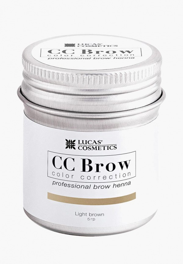Хна для бровей CC Brow CC Brow CC003LWXZK14 lucas cosmetics хна для бровей в саше черный cc brow black 5 гр
