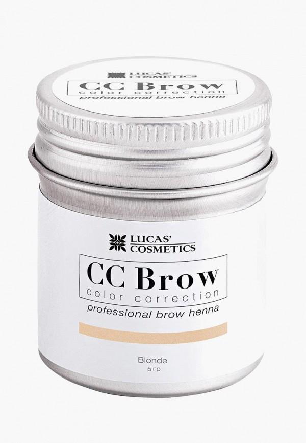 окрашивание бровей cc brow, бежевый