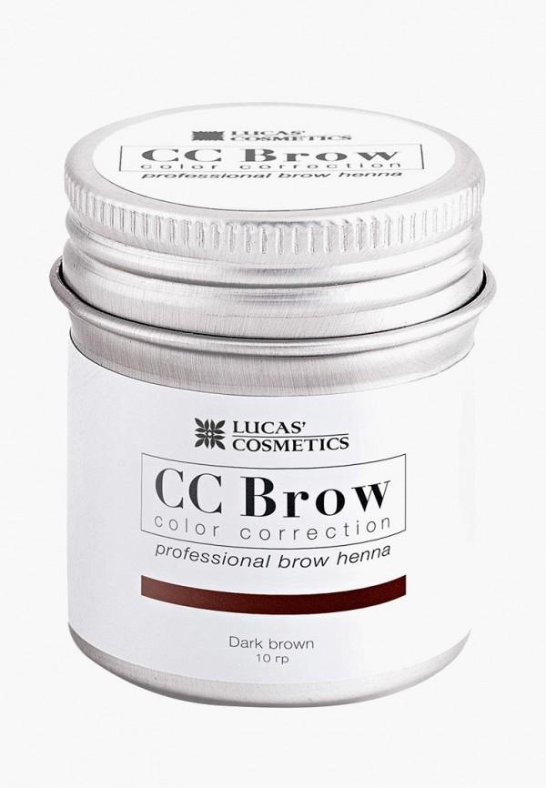 Купить Хна для бровей CC Brow, в баночке (темно-коричневый), 10 гр, CC003LWXZK18, Осень-зима 2018/2019