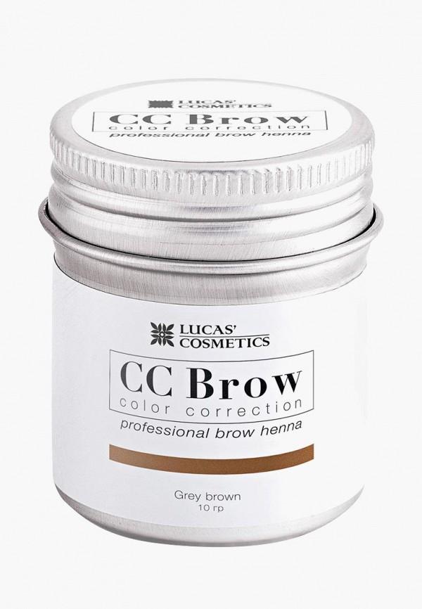 окрашивание бровей cc brow, серый