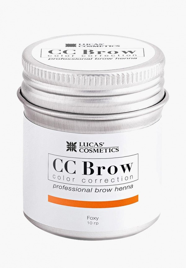 Хна для бровей CC Brow CC Brow CC003LWXZK23 lucas cosmetics хна для бровей cc brow черная в баночке 10 г