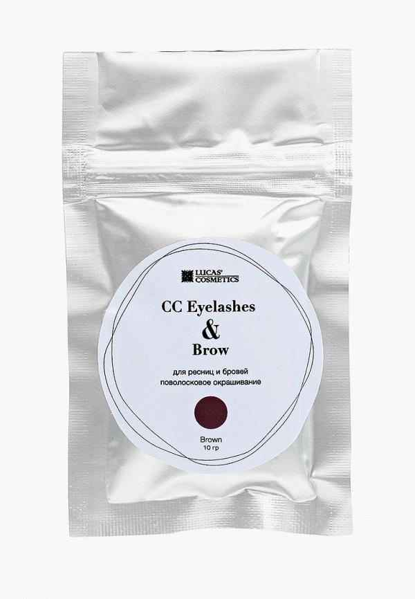 женский окрашивание бровей cc brow, коричневый