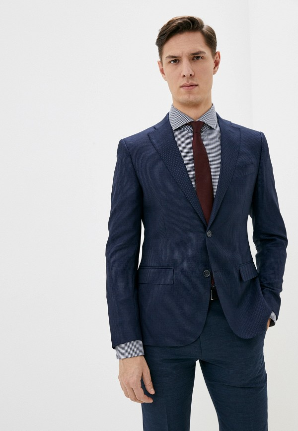 мужской пиджак cc collection corneliani, синий