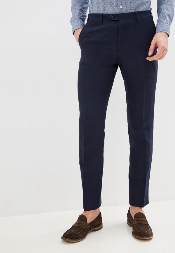 мужские повседневные брюки cc collection corneliani, синие