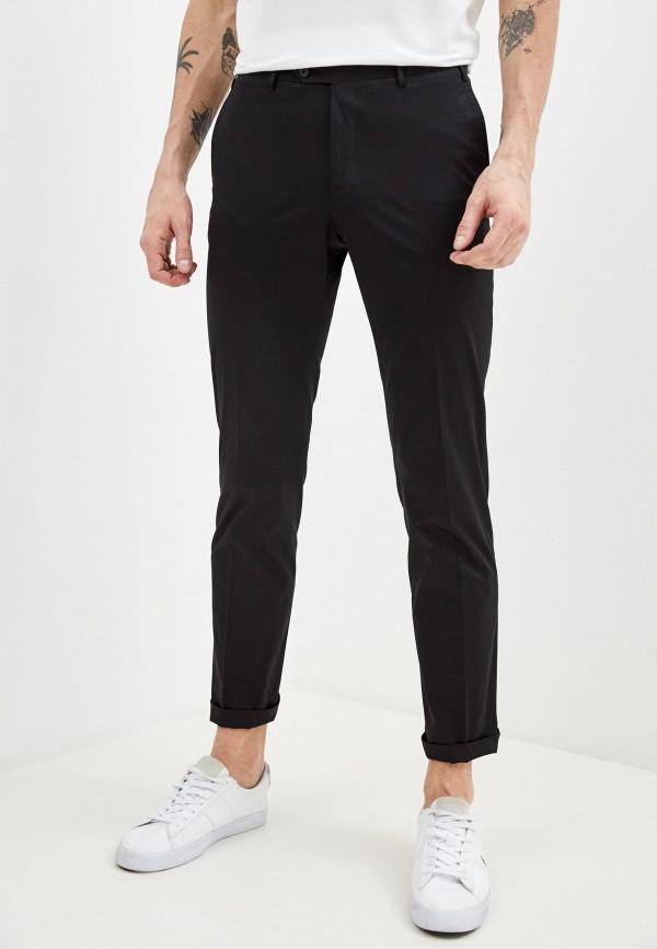мужские повседневные брюки cc collection corneliani, черные