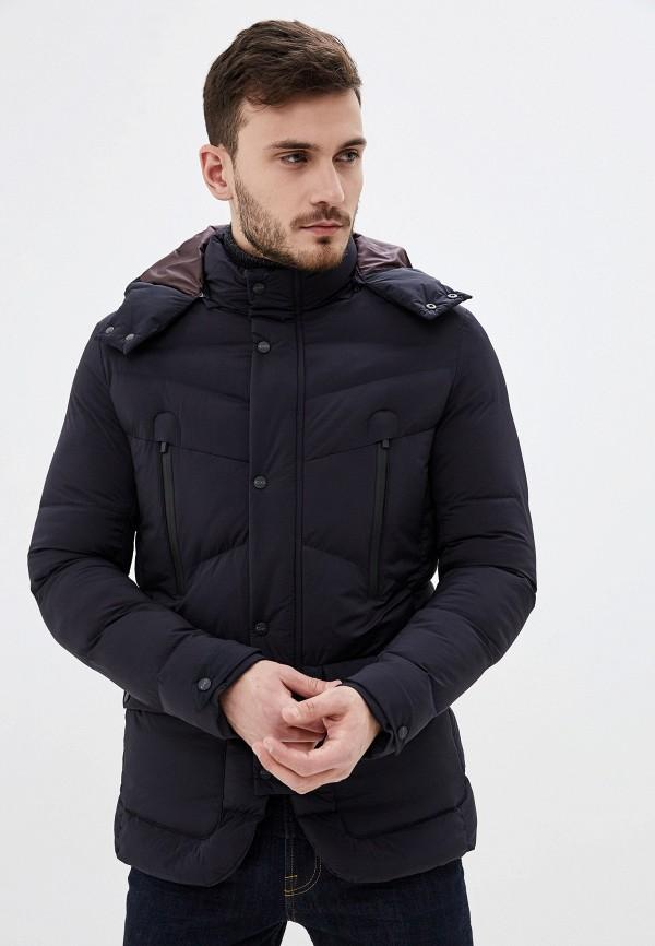 мужская утепленные куртка cc collection corneliani, синяя