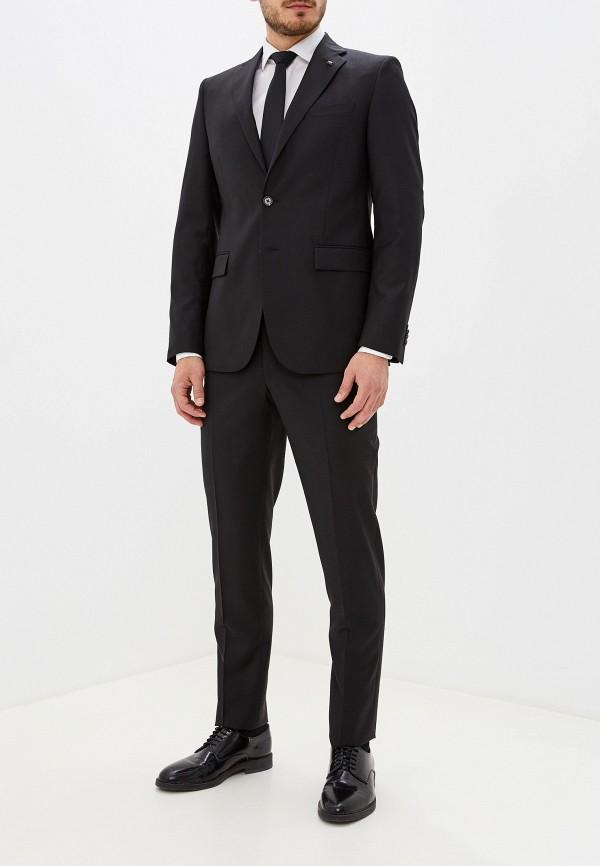 мужской костюм cc collection corneliani, черный