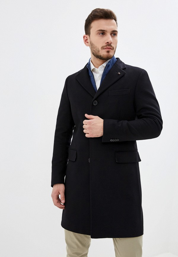 мужское пальто cc collection corneliani, черное