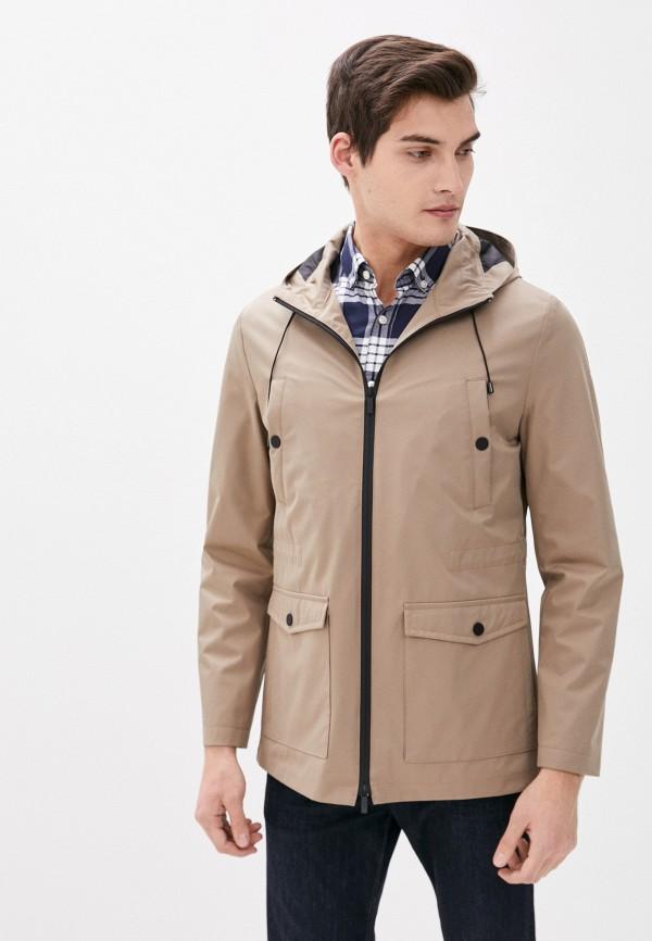 мужская куртка cc collection corneliani, бежевая