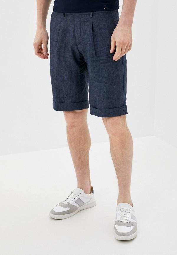 мужские повседневные шорты cc collection corneliani, синие