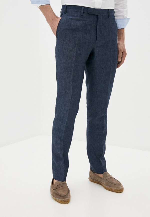 мужские классические брюки cc collection corneliani, синие