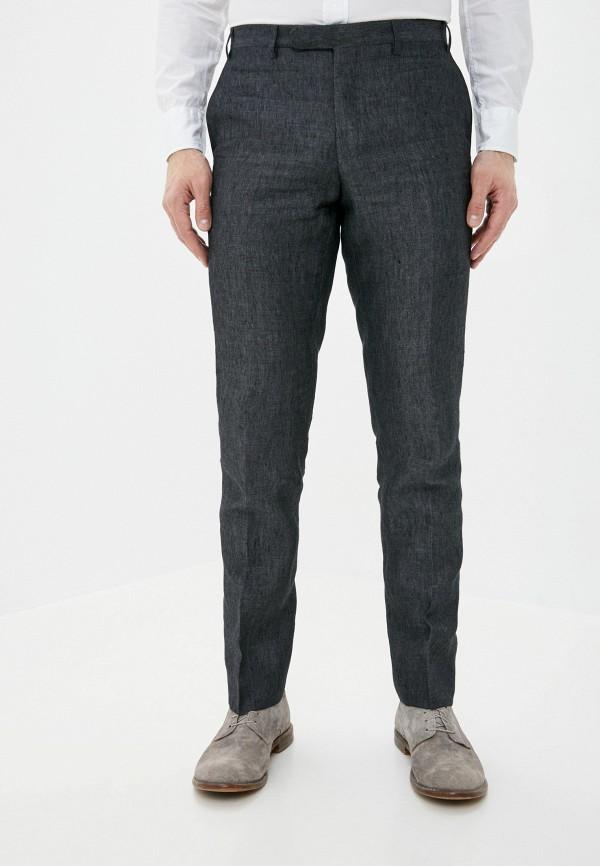 мужские классические брюки cc collection corneliani, серые