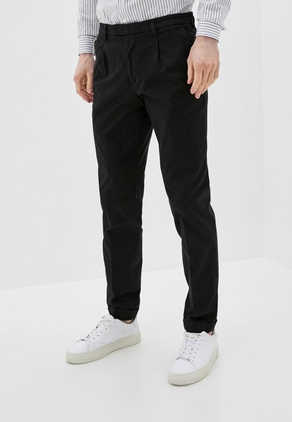 мужские классические брюки cc collection corneliani, черные