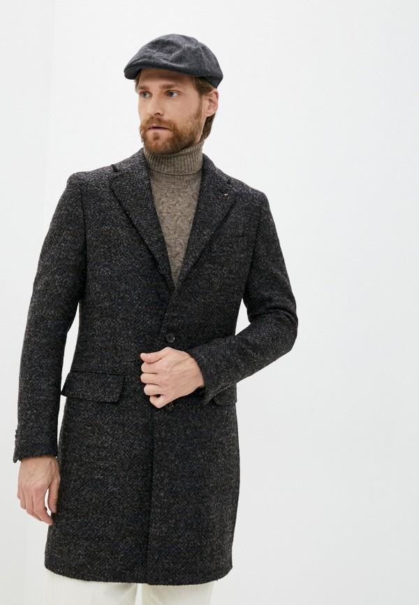 мужское пальто cc collection corneliani, коричневое