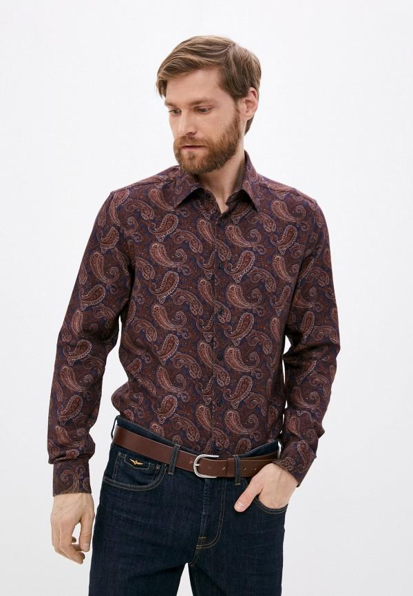 мужская рубашка с длинным рукавом cc collection corneliani, разноцветная
