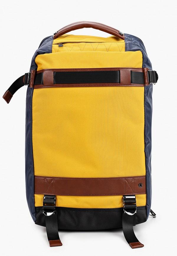 мужской рюкзак celio, желтый