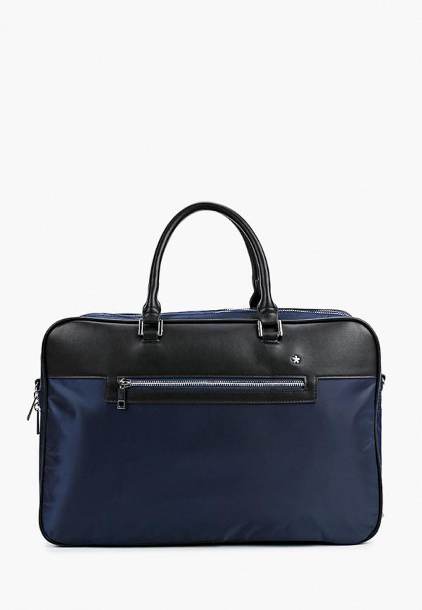 мужская сумка с ручками celio, синяя