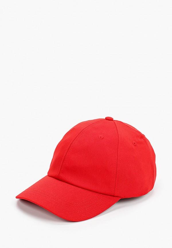 мужская бейсболка celio, красная