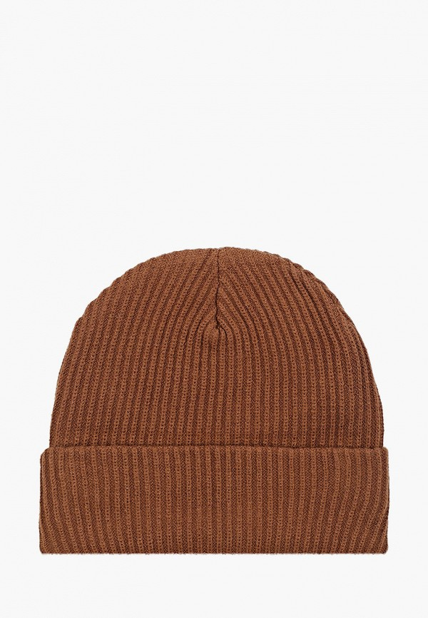 мужская шапка celio, коричневая