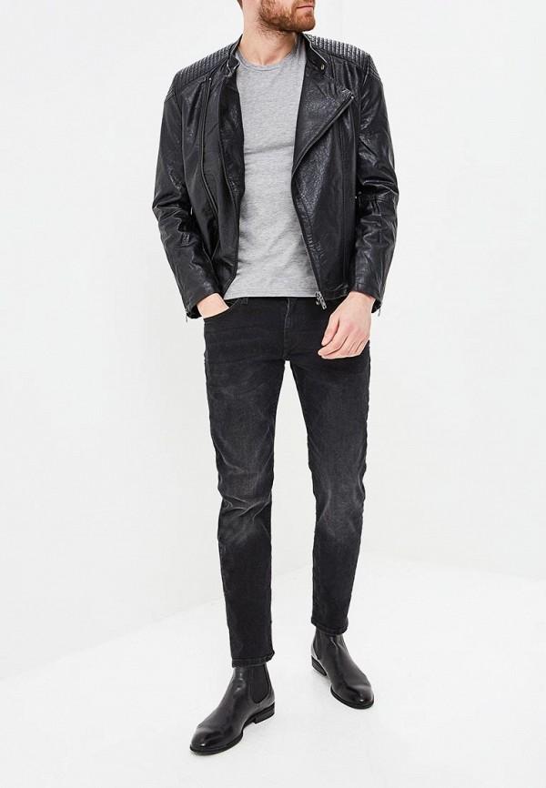 Фото 2 - мужские джинсы Celio черного цвета