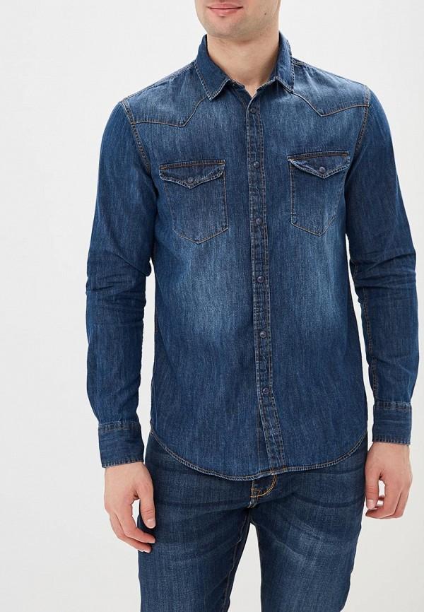 Купить Рубашка джинсовая Celio, CE007EMAOST7, синий, Весна-лето 2018