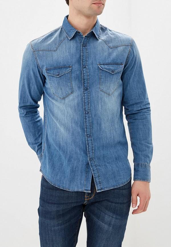 Купить Рубашка джинсовая Celio, CE007EMAOVK9, голубой, Весна-лето 2018