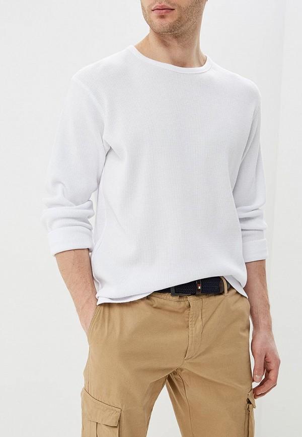 мужской лонгслив celio, белый
