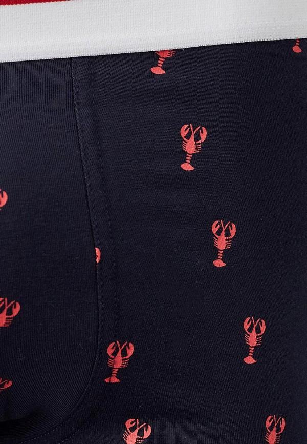 Фото 4 - мужские трусы Celio синего цвета