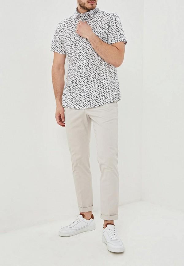Фото 2 - мужскую рубашку Celio белого цвета