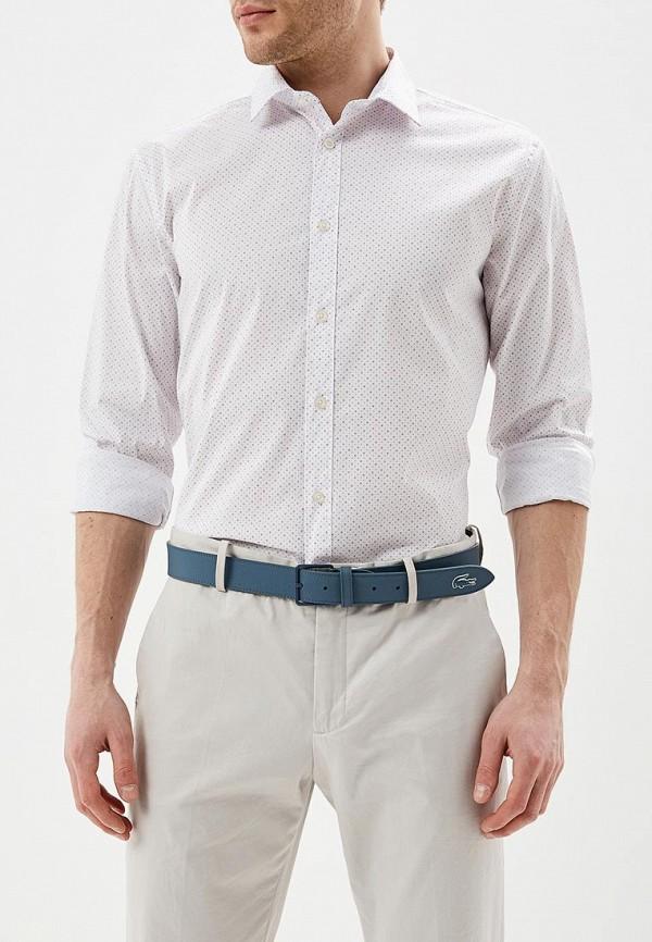 мужская рубашка с длинным рукавом celio, розовая