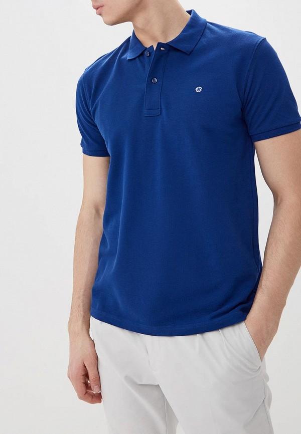 мужское поло celio, синее