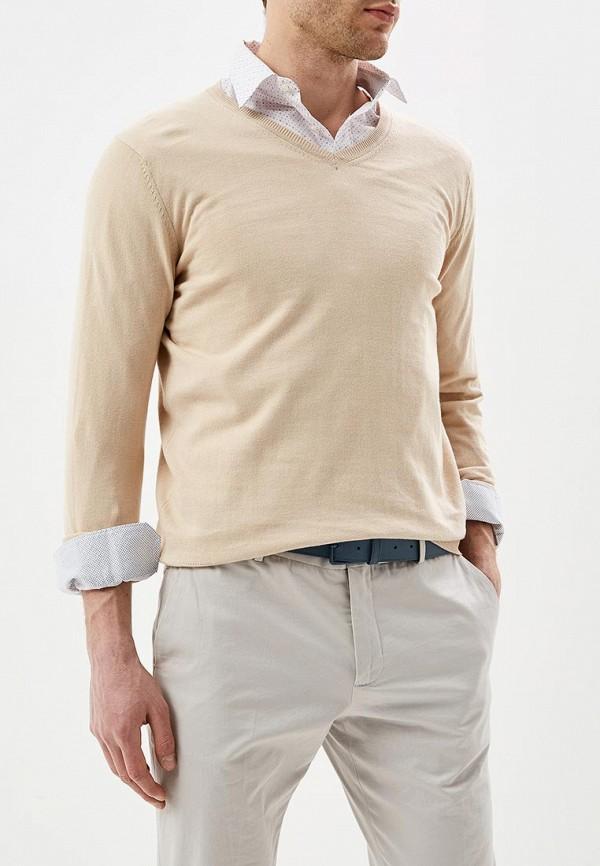 мужской пуловер celio, бежевый