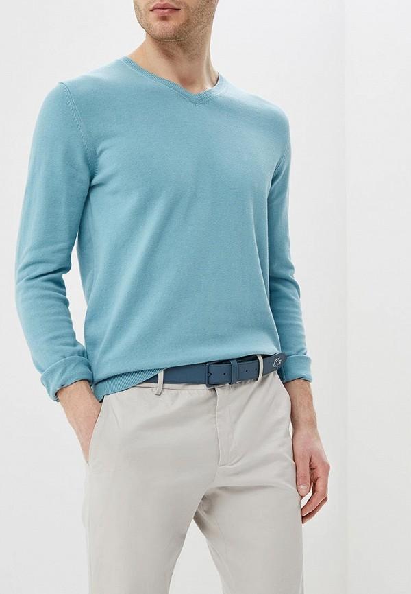 мужской пуловер celio, бирюзовый
