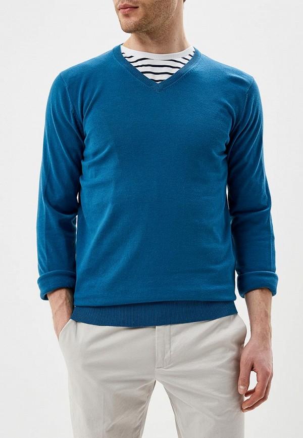 мужской пуловер celio, синий