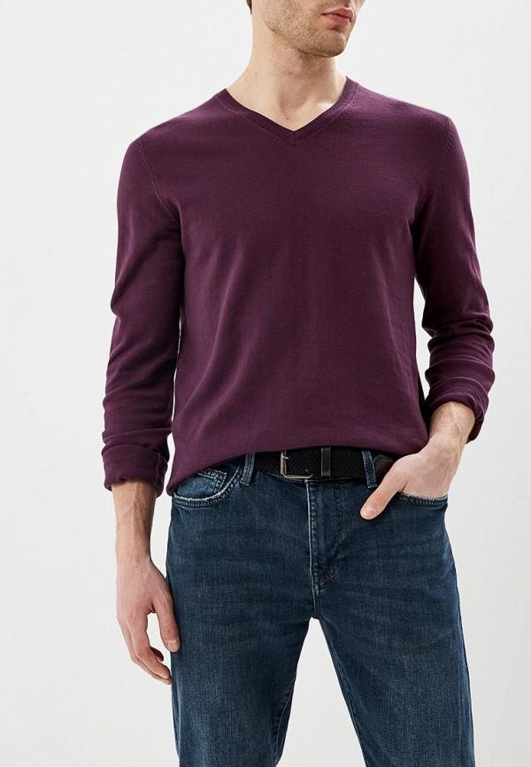 мужской пуловер celio, фиолетовый
